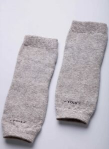 Grey Woolen Knee Pads