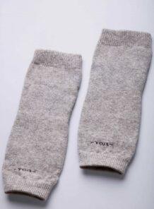 Grey Woolen Knee Pads
