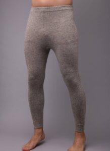 Grey Woolen Men's Underpants