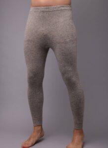 Grey Woolen Men's Underpants