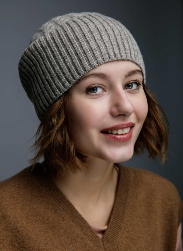 Grey Woolen Hat
