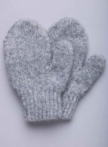Grey Yak Childen's Mitten