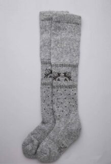 Grey Yak Woolen Children's Socks