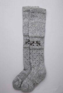 Grey Yak Woolen Children's Socks