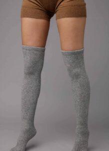 Grey Yak Woolen Socks