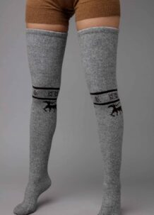 Grey Yak Woolen Stocking