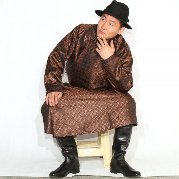 Mongolian Men's Deel