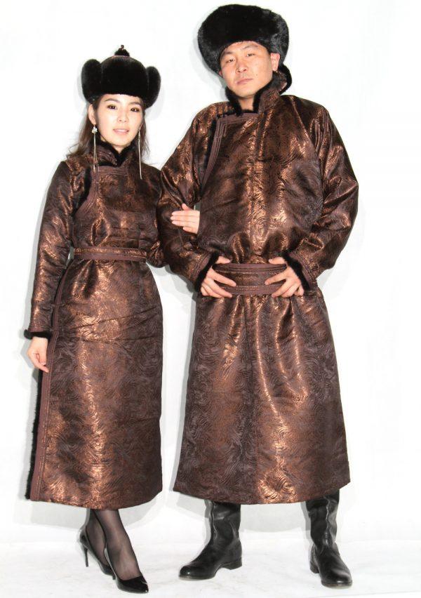 Couple Brown Deel