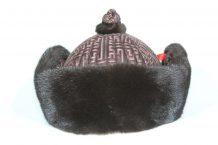 Brown 4 Side Fur Hat