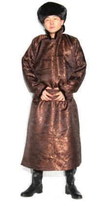 Men's Brown Deel with Sable Fur