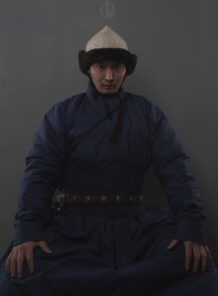 Mongolian Hunnu Deel with Hat
