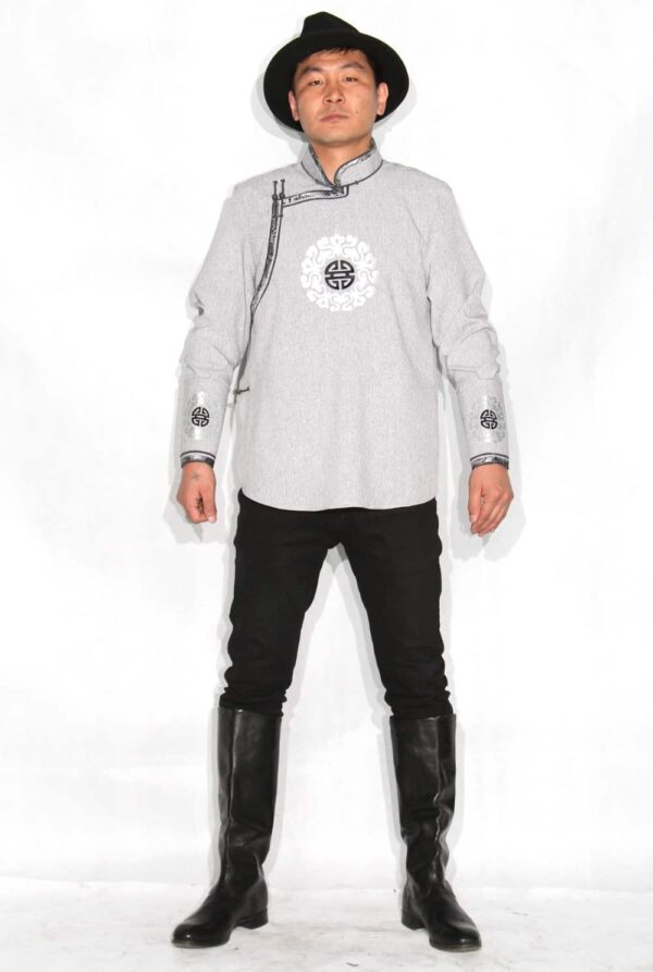 Gray Men Shirt
