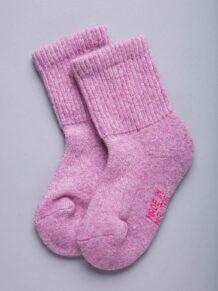 Pink Camel Woolen Children's Socks