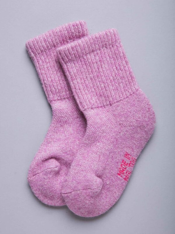 Camel Woolen Children's Socks