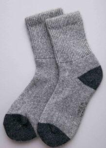 Socks made of wool Yak gray