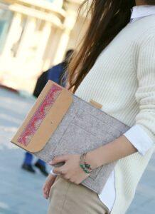 Woolen Laptop Case