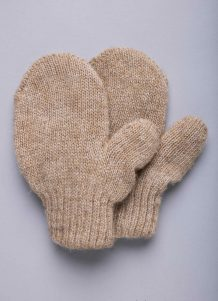 Brown Children's Mitten