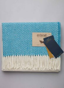 Blue Sheep Woolen Scarf
