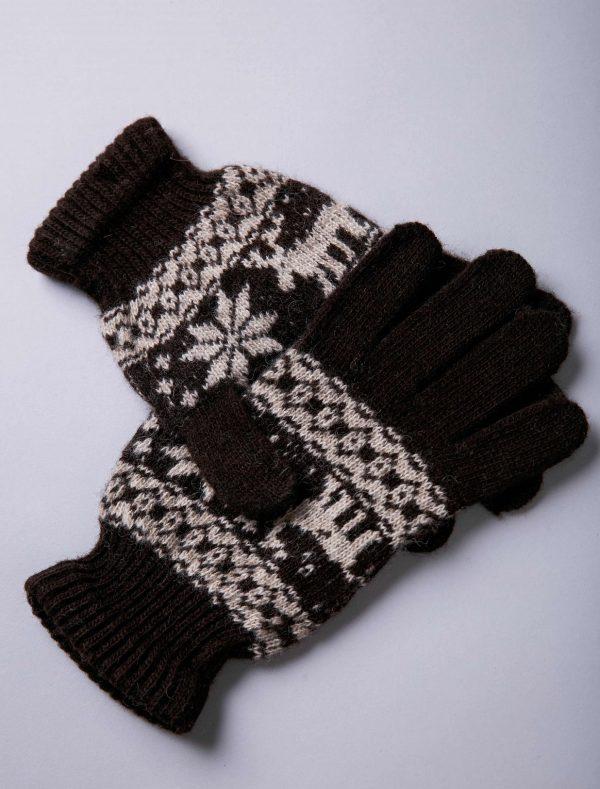 Yak Woolen Adult Gloves