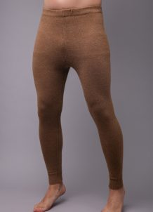 Brown Woolen Men's Underpants