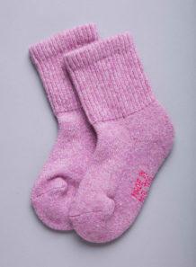 Pink Woolen Socks