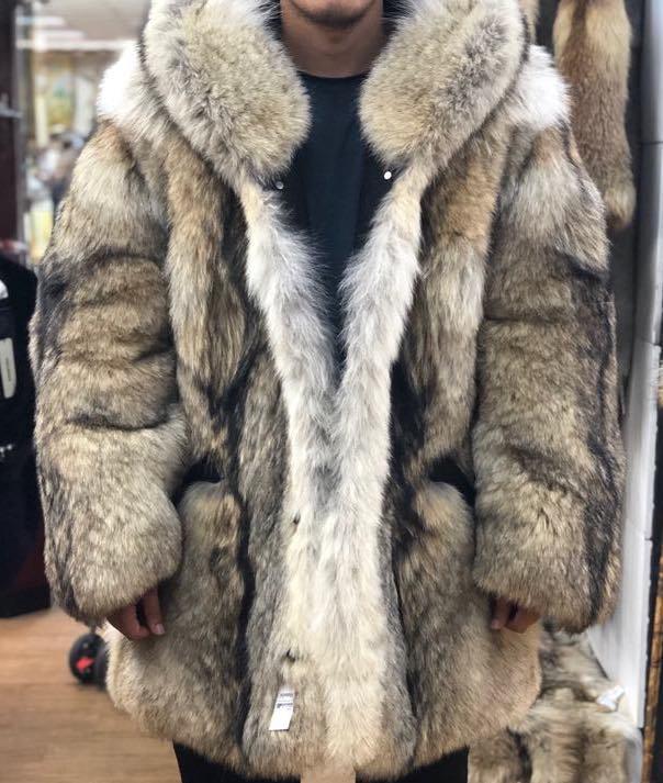 Wolf Fur Coat >> Wolf Fur Coat