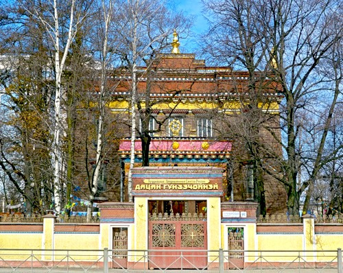 buryats mongols   datsan temple