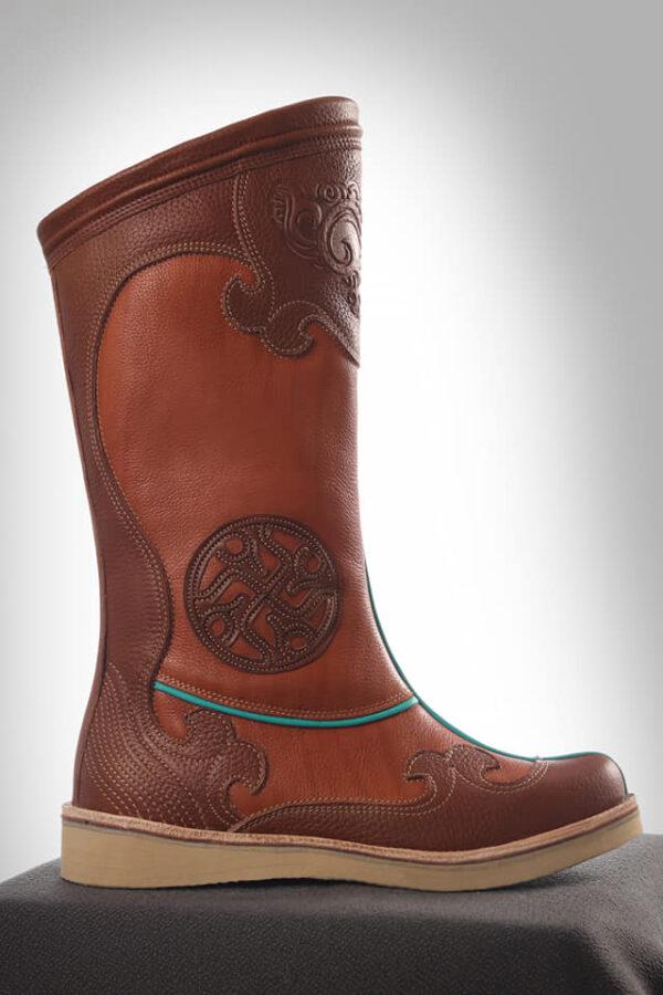 Mongolian Cowhide Boots