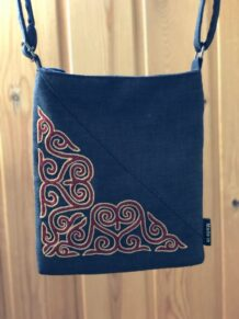 Kazakh Embroidery Bag
