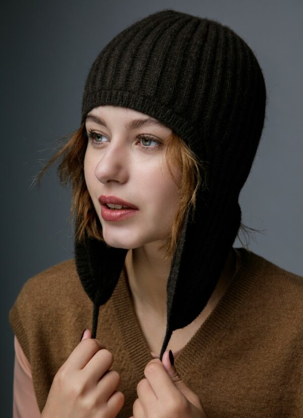 Yak Wool Hat with Ears