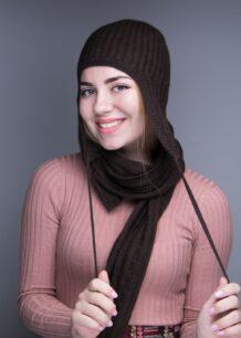 Yak Wool Hat with Ears