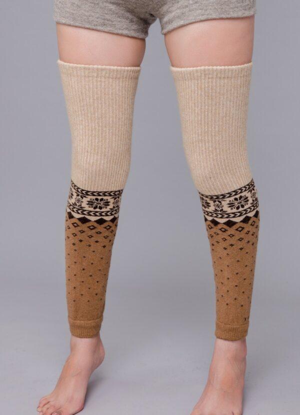 Sheep Wool Leg Warmers