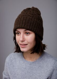 Dark Brown Hat