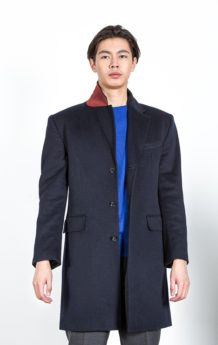 Black Sheeo Wool Coat