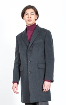 Black Sheep Wool Coat 100%