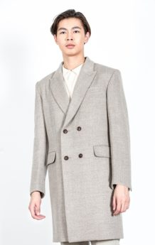 Gray Sheep Wool Coat 2