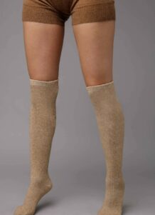 Light Brown Knee High Socks