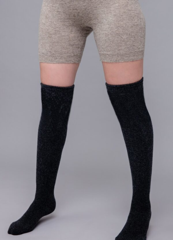 Sheep Wool Knee High Socks