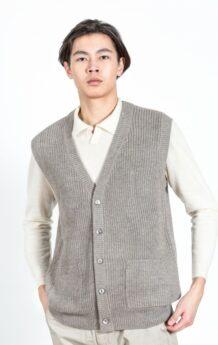 Gray Sheep Wool Vest