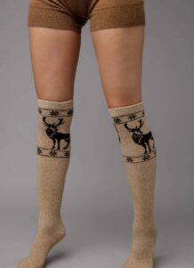 Light Brown Knee High Socks