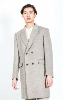 Gray Sheep Wool Coat 2