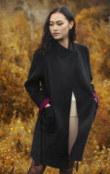 Women Black Coat