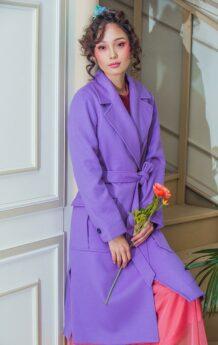 Purple Women Coat 21
