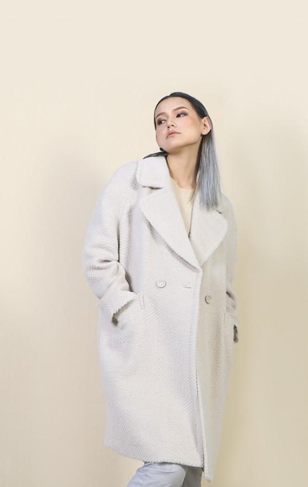 100% Sheep Wool Coat