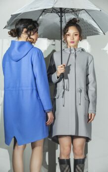Blue and Gray Coat