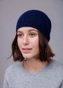 Dark Blue Hat