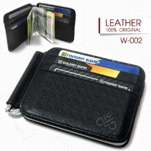 Mongolian Leather Card Holder