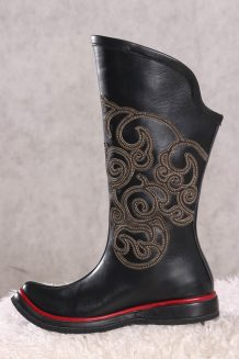Cowhide 14 th Century Boots