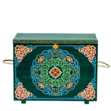 Traditional green chest