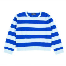 kids striped cashmere jumper
